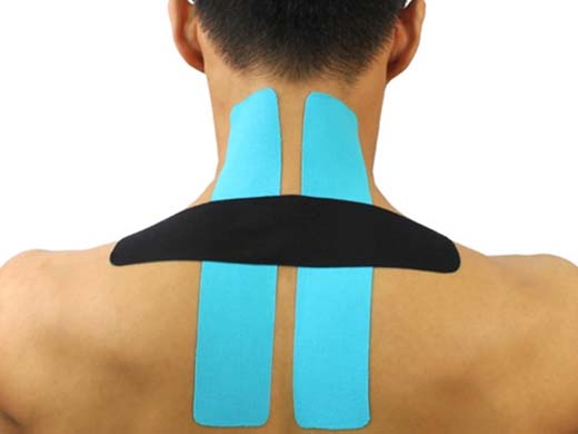 SportsTex Front Neck Tape Application