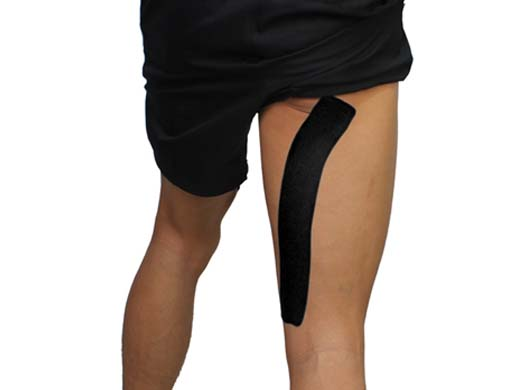 SportsTex Hip kinesiology Tape Application