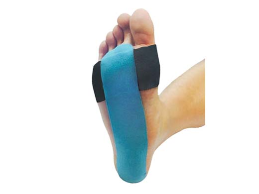 SportsTex sole kinesiology Tape Application